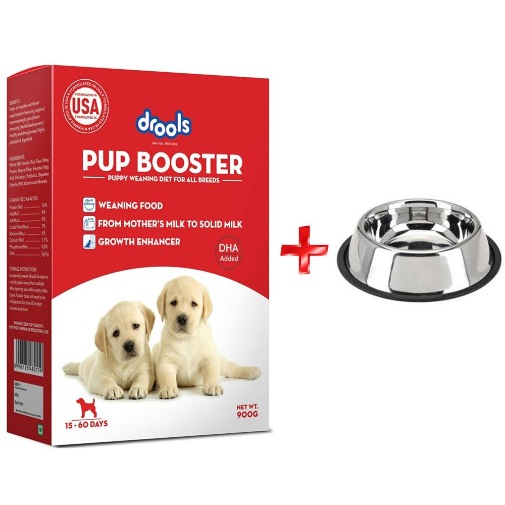 drools-pup-booster-puppy-food-300-g-furry-friend-anti-skid-puppy-bowl