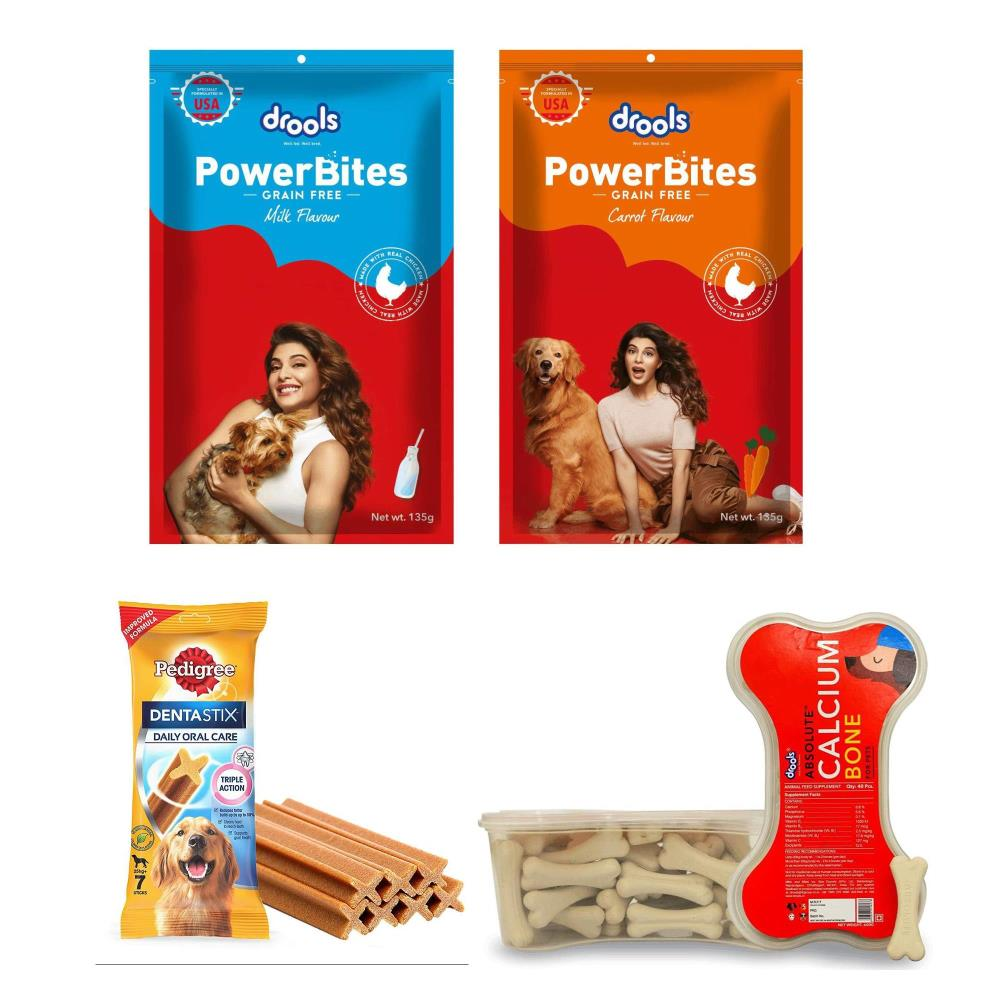 drools-power-bites-135-g-drools-drools-power-bites-135-g-pedigree-dentastix-large-breed-drools-absolute-calcium-bone-40-pcs-combo-pack